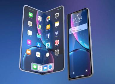 iPhone XFold概念折叠手机设计