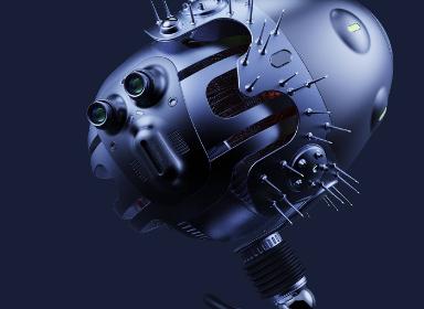 大头机器人概念设计