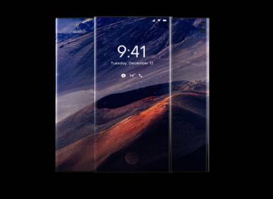 黑科技智能手机概念设计