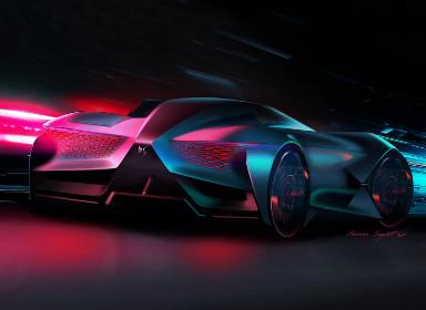 DS X E-Tense Concept概念车