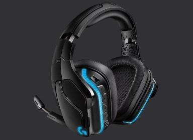 罗技G935头戴式耳机设计