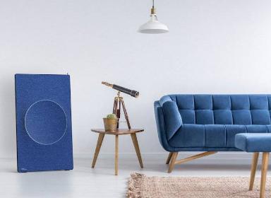 扬声器可与家具融为一体
