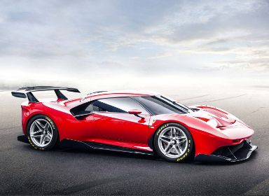 法拉利P80 / C赛车设计