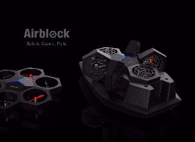 无人机 Airblock / Drone for education