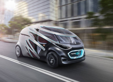 奔驰Vision Urbanetic概念车