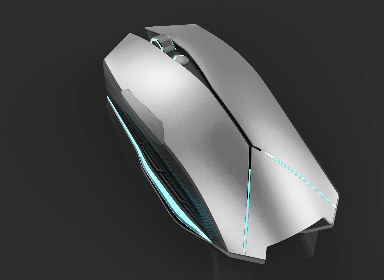 Alienware Theme Bluetooth Mouse Design 外星人主题蓝牙鼠标设计