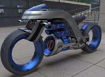 酷炫概念机车设计欣赏,灵感来源于戴森